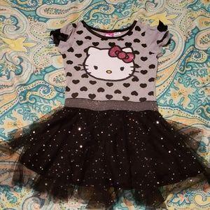 Hello Kitty cool fashion sparkle dress